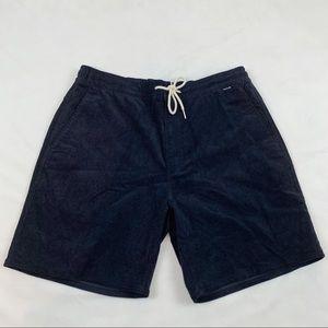 Hurley Natural Corduroy shorts elastic waistband